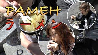Японский Рамен в Банке. Странная Японская Еда.
