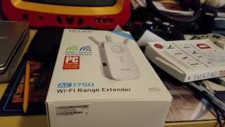 tp link ac1750 wifi range extender review