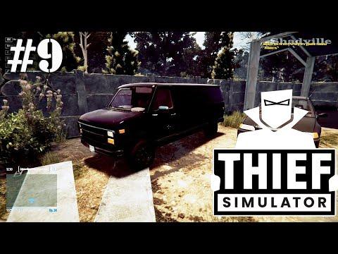 Наворовал на фургон ☀ Thief Simulator Прохождение игры #9