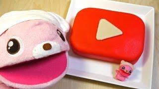 YouTube Play Button Cake 再生ボタンケーキ Recipe thumbnail