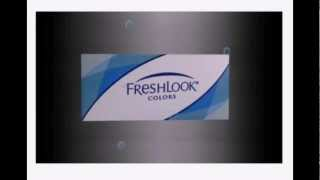 Freshlook Contact Lenses Ciba Vision with Colours