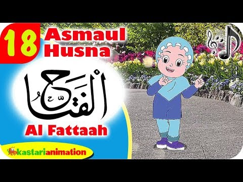 Asmaul Husna 18 - Al Fattah bersama Diva | Kastari Animation Official