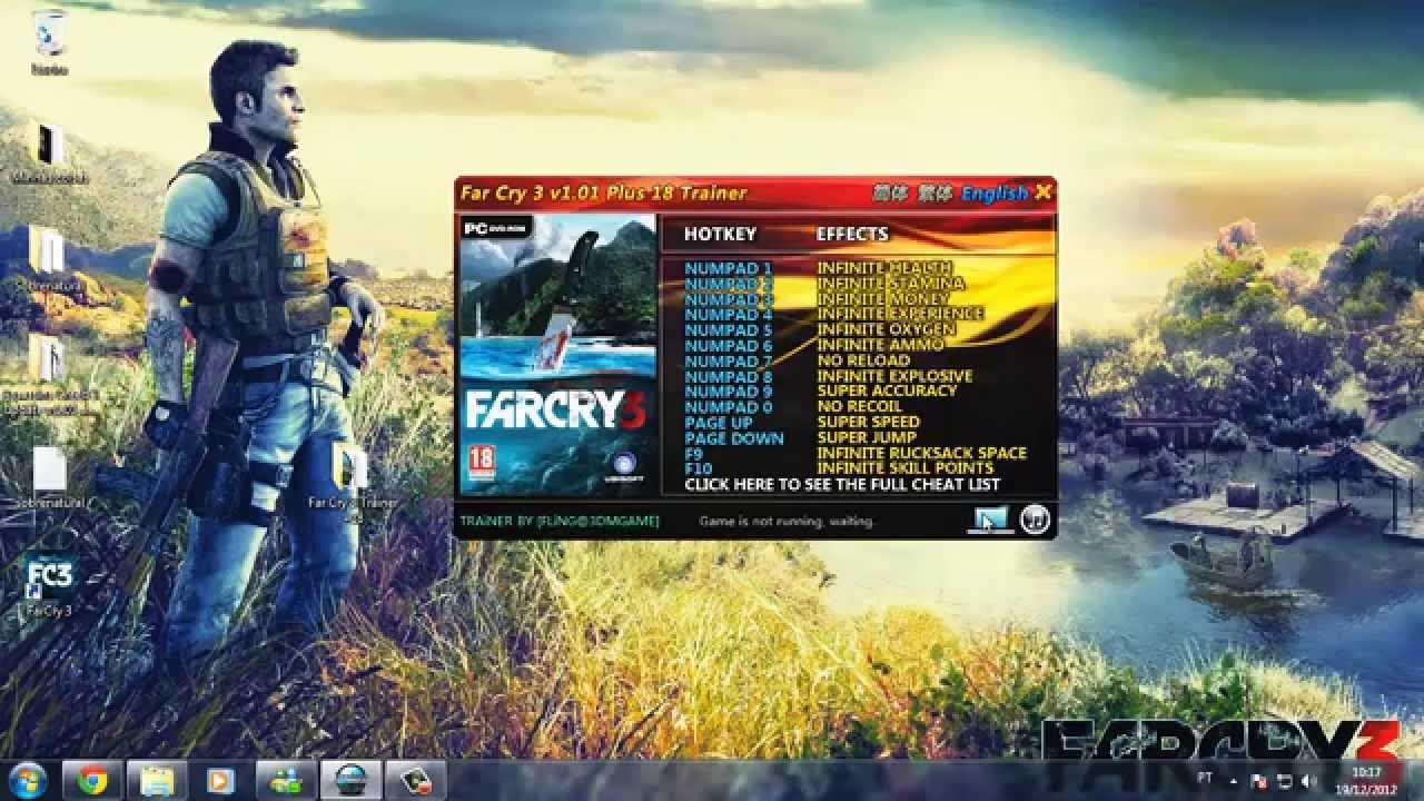 Скачать far cry 3: трейнер/trainer (+24) [dx9 dx11] [1. 05] [update.