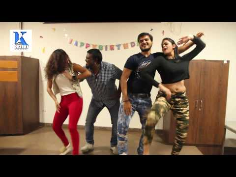 #Awara Balam Success Party & #Arvind Akela Kallu & Yamini Singh #Birthday Party - Live Dance