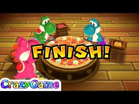 Mario Party 9 Step It Up #128 (Free for All Minigames)