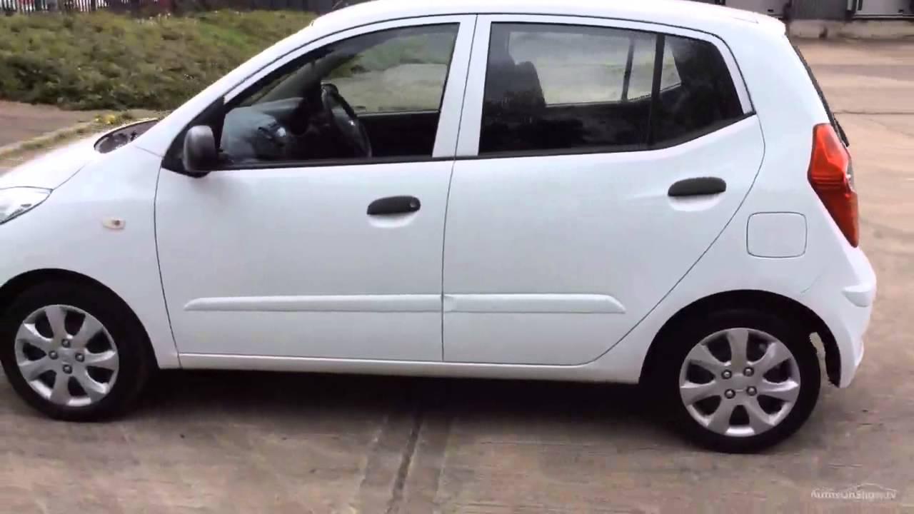 Hyundai I10 Classic White 2011 Youtube