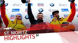 Double delight for Mr. Dukurs at St. Moritz-Celerina | IBSF Official