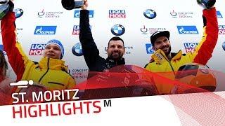 Double delight for Mr. Dukurs at St. Moritz-Celerina | IBSF Official