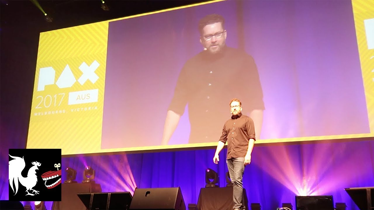 18e19d39 Burnie Vlog: PAX Australia | Rooster Teeth - YouTube