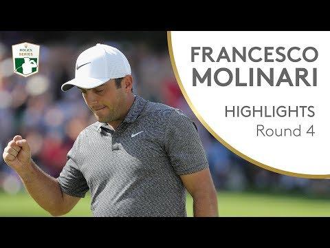 Francesco Molinari Final Round Winning Highlights | 2018 BMW PGA Championship