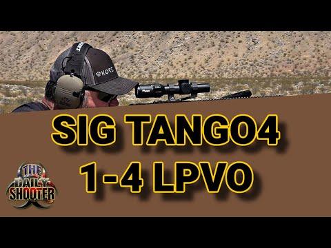 Sig Sauer Tango4 1-4x24 LPVO Review