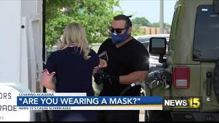 Are people wearing masks?  Why or why not?