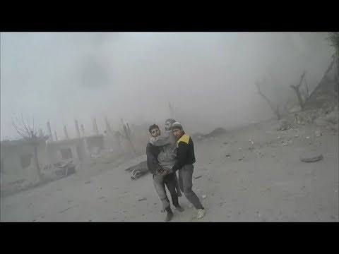 UN describes under siege eastern Ghouta in Syria as 'hell on earth' | ITV News