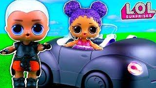 Новый мальчик ЛОЛ ВИЧАЙ БОЙ на крутой машине для Марии? Мультик куклы лол сюрприз LOL dolls