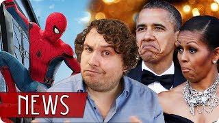 Netflixdeal mit den Obamas   SPIDER-MAN: HOMECOMING 2 - FILM NEWS