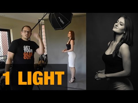 Download Youtube: LIVE Photoshoot - Single light portraiture