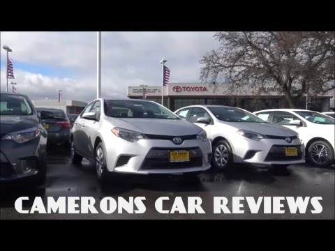 2016 toyota corolla le review 1 8 l 4 cylinder camerons car reviews youtube. Black Bedroom Furniture Sets. Home Design Ideas