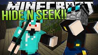 DON'T FAIL ME, COOKIE! | Minecraft: Hide N Seek Minigame!
