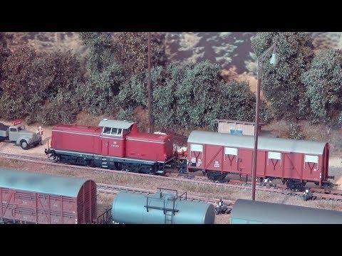 Modellbahn H0 Realistischer Betrieb: Nimburg 1962 FOLGE 6- Güterzug & Rangier Betrieb TEIL 3