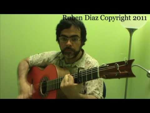 Cante Flamenco 6 Advanced Guitar Lesson accompaniment   Ruben Diaz GFCestudio Malaga CFGstudio