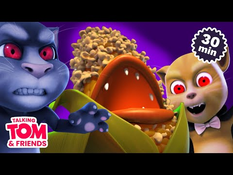 Download Vampires and Popcorn! Scary Movie Marathon (Talking Tom & Friends Halloween Special)