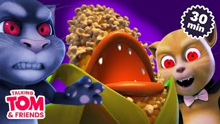 Vampires and Popcorn! Scary Movie Marathon (Talking Tom and Friends Halloween Special)