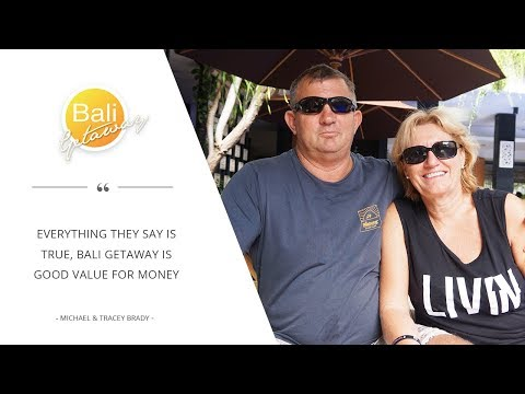 Booking with Bali Getaway is easy and comfortable | Michael Brady