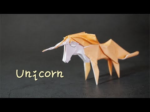 Origami Tutorial: Unicorn (Roman Diaz)|Hello Malinda