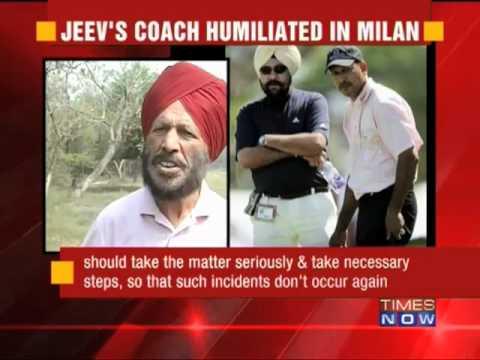 Jeev Milkha Singh's coach humiliated in Milan