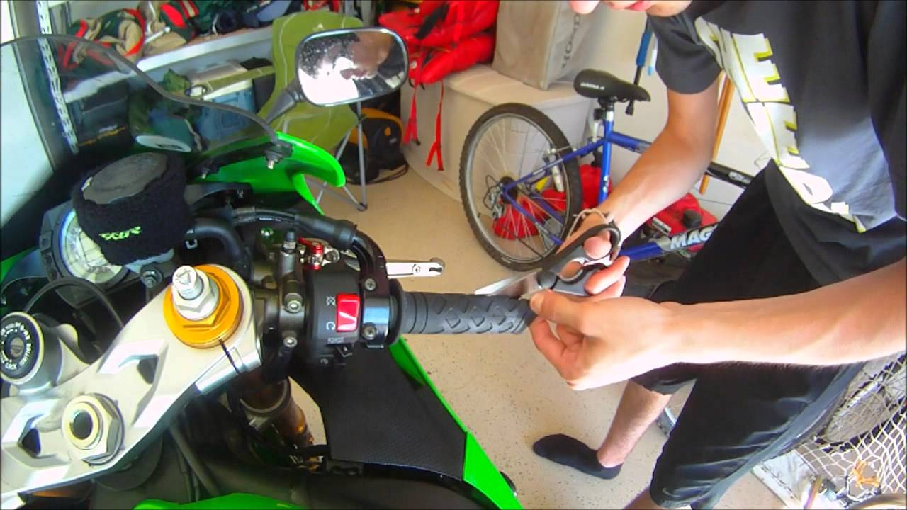 Motorcycle Grip Removal Zx6r