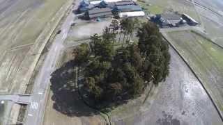 空撮4Kサンプル 城の山古墳完 WIN-PLUS