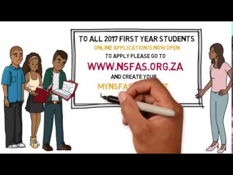 How To Apply for NSFAS Funding Animation