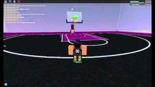 how to make any shot in roblox pbl basketball with kinq!!!