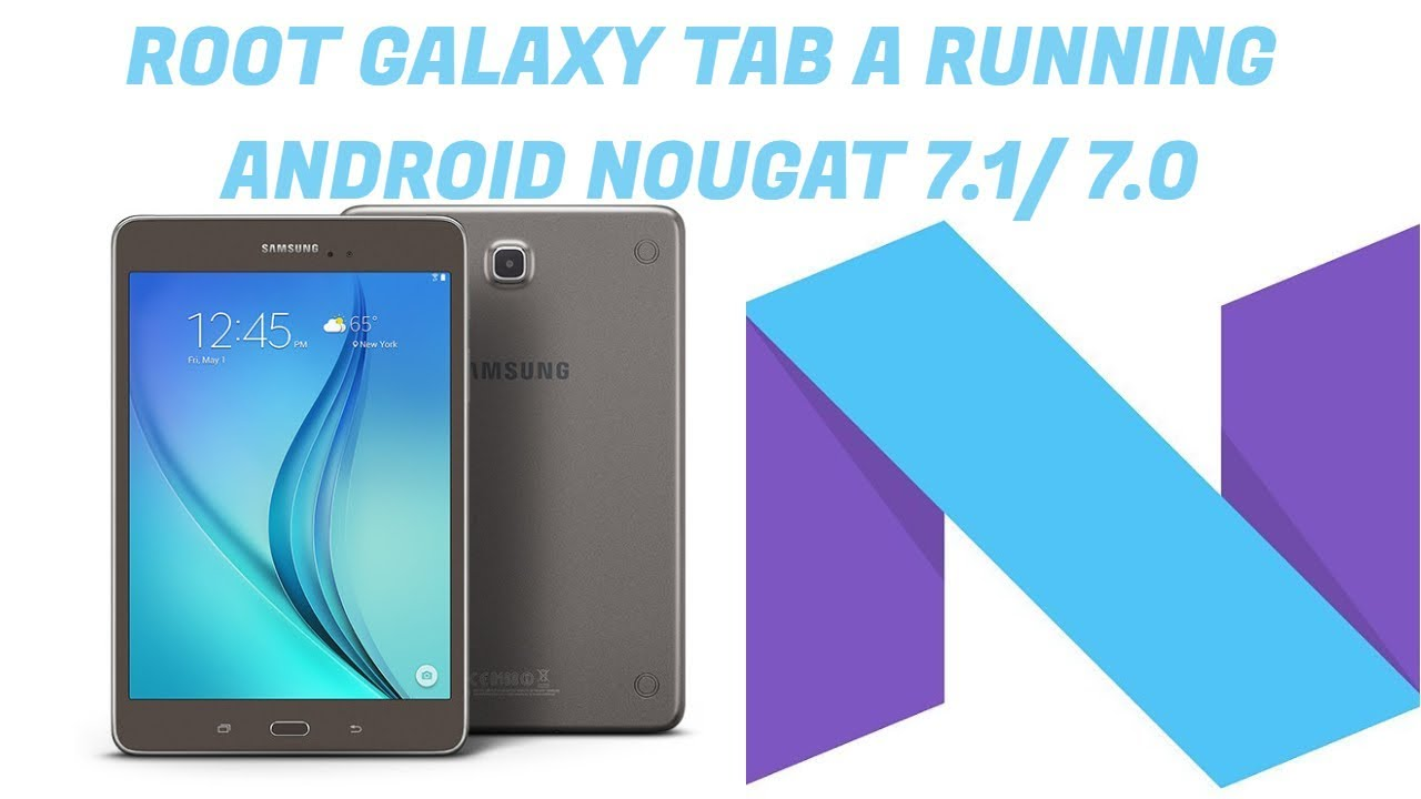 Galaxy tab a 7 root