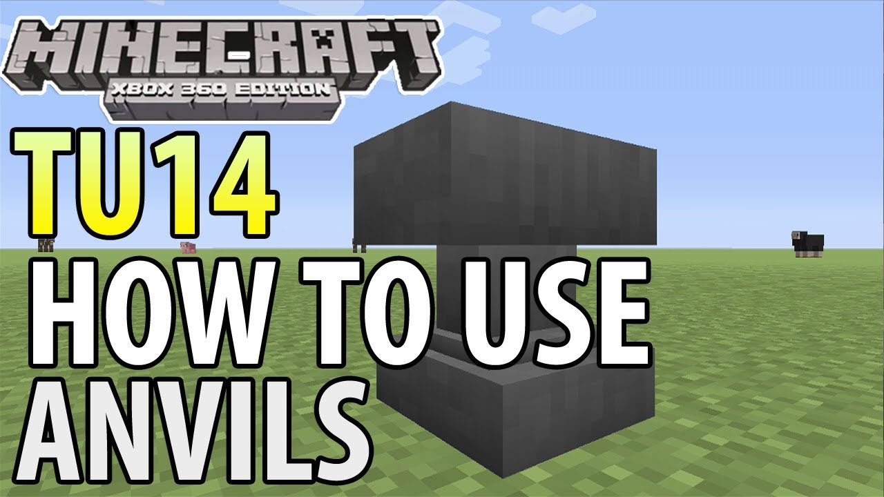 Minecraft Xbox 360PS3 TU14 UPDATE HOW TO USE
