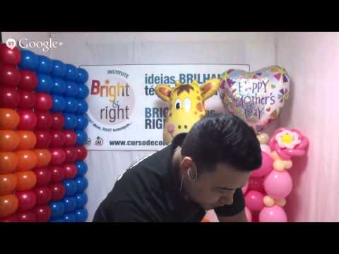 Dicas de como usar os balões Quicklink em decorações