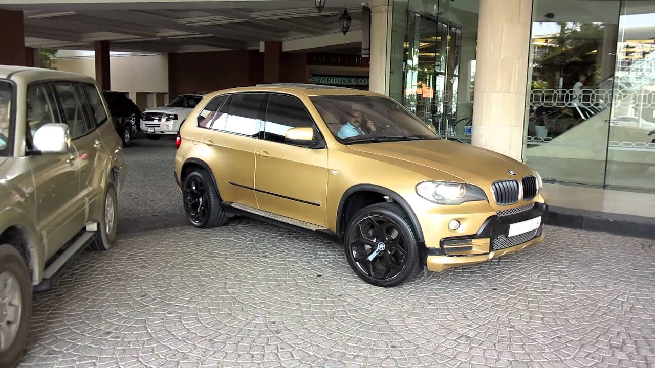 Matte Gold Bmw X5 4 8i Drive By Youtube