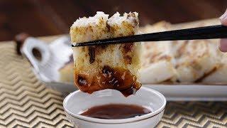 【1mintips】用電鍋蒸蘿蔔糕,就是這麼簡單!白蘿蔔盛產,多做一些,香甜滑順蘿蔔糕隨時上桌!