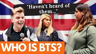 Do Londoners know who BTS are?