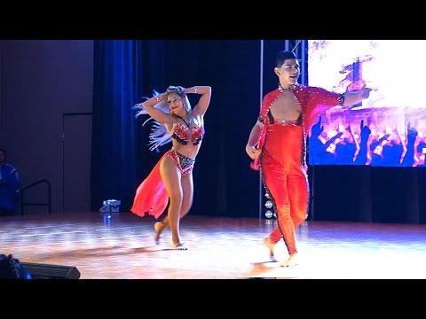 Karen Forcano y Ricardo Vega at the 2016 LA BKS Festival