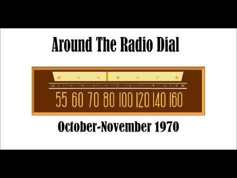 AROUND THE RADIO DIAL–OCTOBER-NOVEMBER 1970