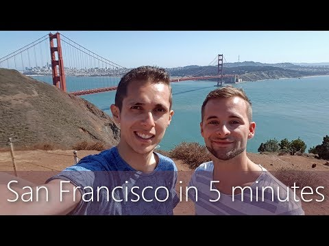 San Francisco in 5 minutes | Travel Guide | Must-sees for yo