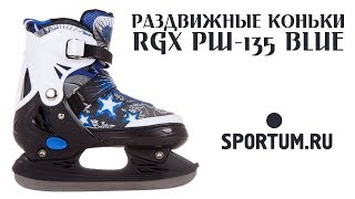 Раздвижные коньки RGX PW-135 Blue