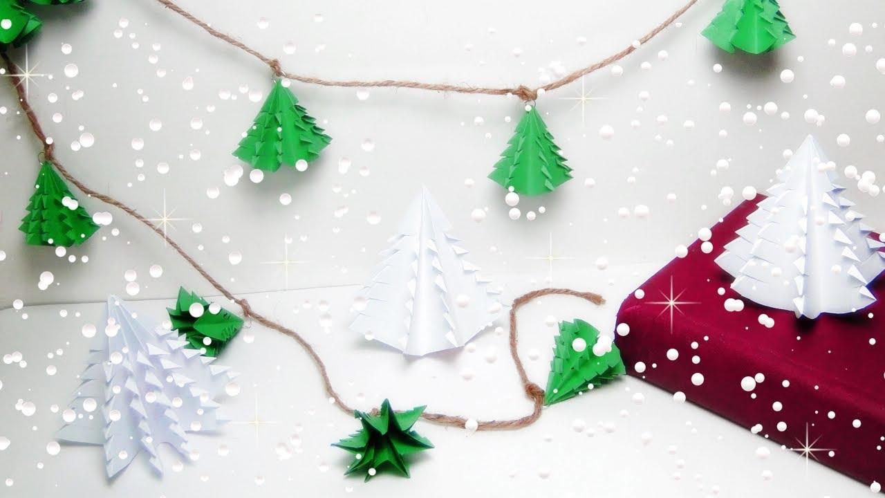 Diy Christmas Garland Christmas Tree Garland