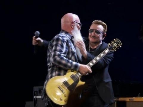 Eagles of Death Metal Join U2 on Paris Stage