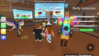 Played epic minigames on Roblox wid My friend galaxystar... So Good!!!