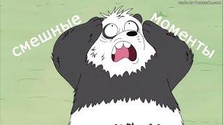 """смешные моменты из """" мы обычные медведи """""""