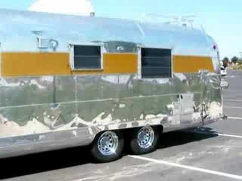 1964 Silver Streak Trailer - YouTube