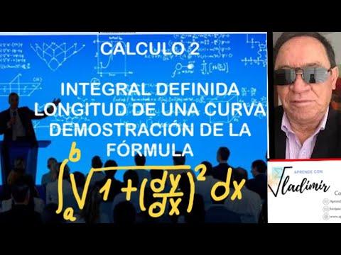 DEMOSTRACION DE LA FORMULA DE LONGITUD DE UNA CURVA EJ 81