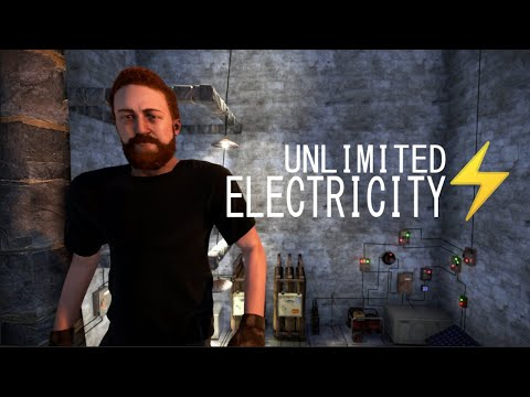 RUST: Unlimited Electricity tutorial, all day, all night